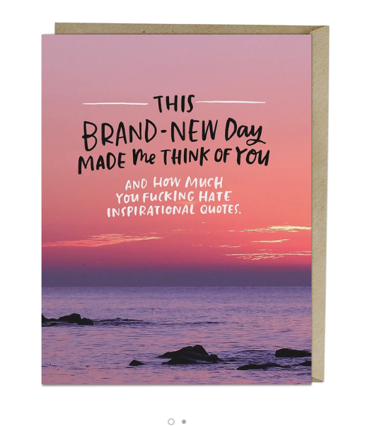 Card - Brand New Day Card