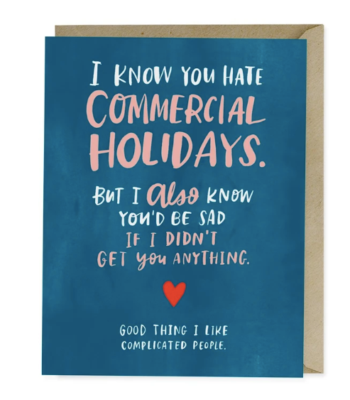 Card - Commercial Holiday