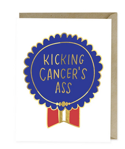 Card - Kicking Cancer's Ass (Emily McDowell)