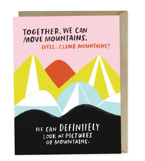 Card - Move Mountains