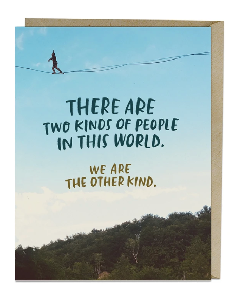 Card - Two Kinds of People