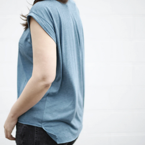 Shirt - Rolled Cuff Muscle Tee - Hex