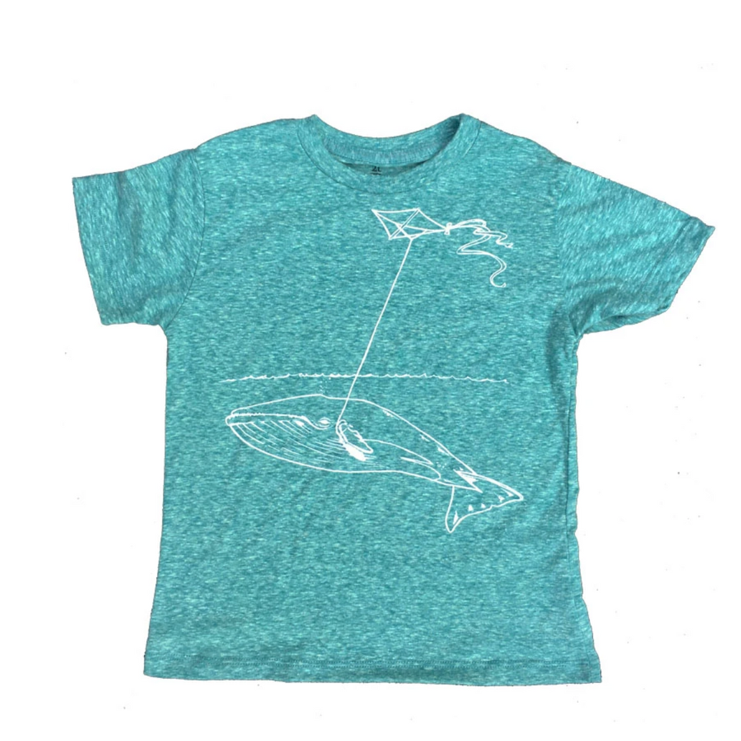 Toddler Shirt - Whale w/ Kite