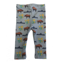 Load image into Gallery viewer, Baby Leggings - Buffalo Poppies