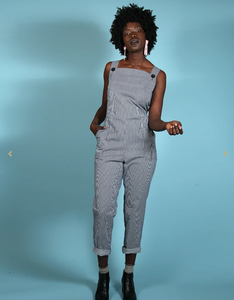 Overalls - Railroad Stripe - Conductor