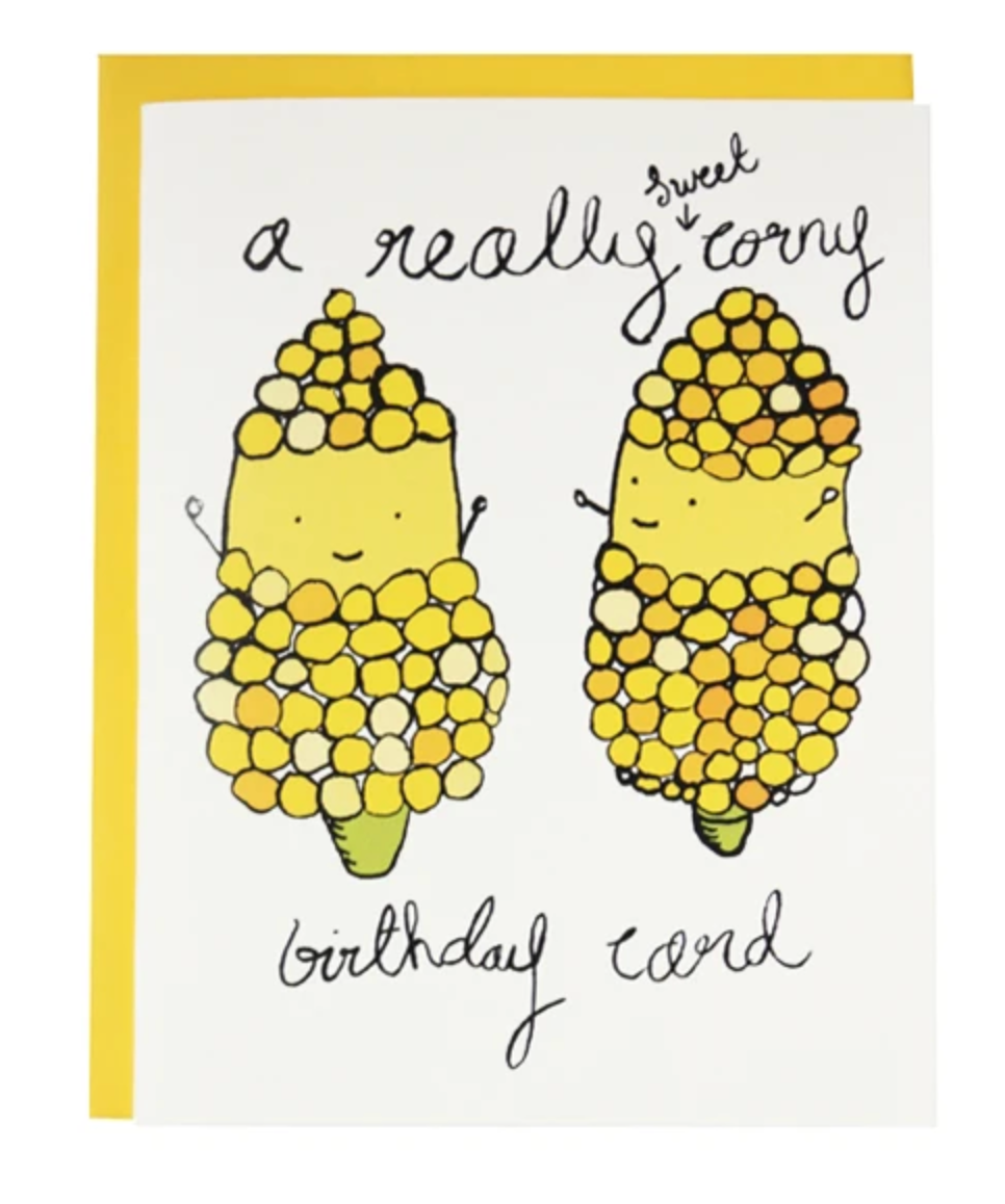 Card - A Really Sweet Corny Birthday Card
