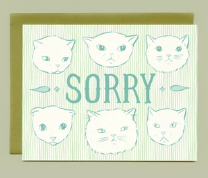 Card - Sorry Cats
