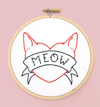 Load image into Gallery viewer, Craft Supply - Pattern - I Heart Cats