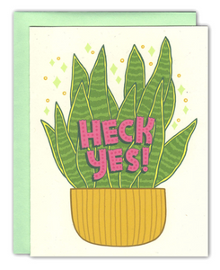 Card - Heck Yes Card