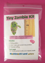 Load image into Gallery viewer, DIY - Knitting Kit - Zombie