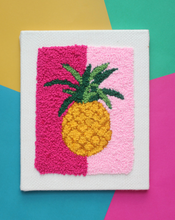 Load image into Gallery viewer, DIY - Punch Needle Kit - Pineapple