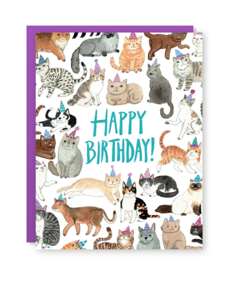 Card - Birthday Cats
