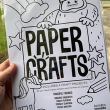 Load image into Gallery viewer, Paper Craft Kit: Fanciful Friends