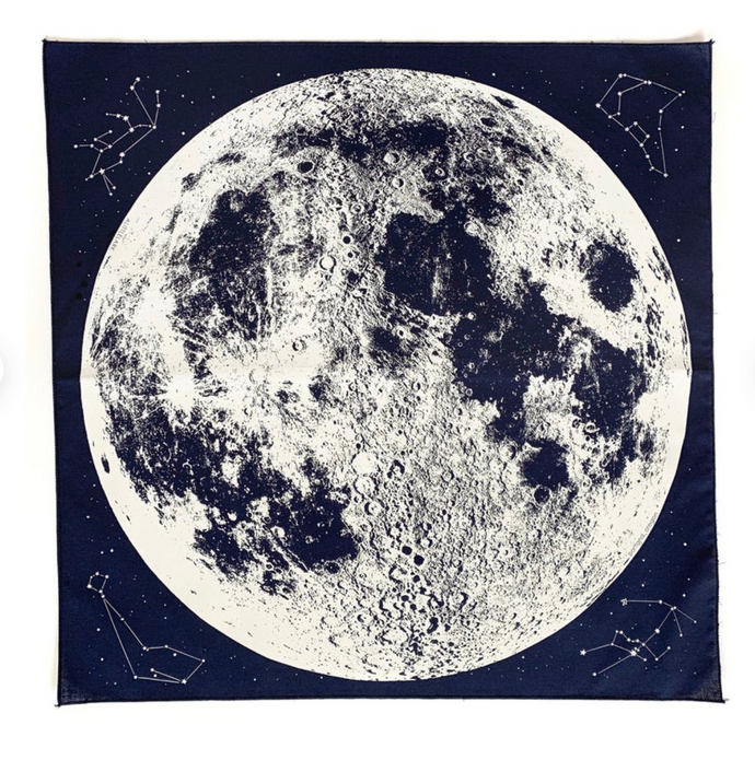 Bandana - Navy Moon