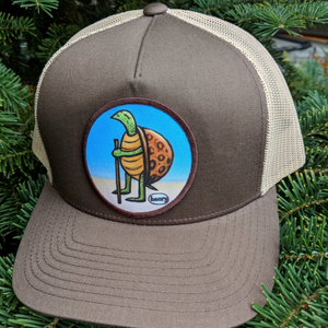 Hat - Trucker - Hiking Turtle