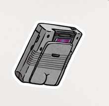 Load image into Gallery viewer, Sticker - Gameboy Butt