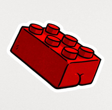 Load image into Gallery viewer, Sticker - Lego Butt