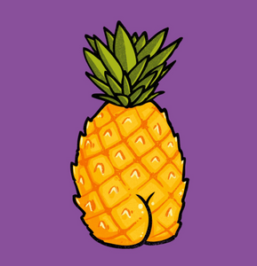 Sticker - Pineapple Butt
