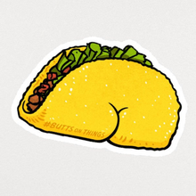 Load image into Gallery viewer, Sticker - Taco Butt
