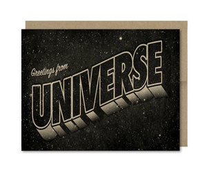 Card - Greetings from the Universe (Galek Sea)