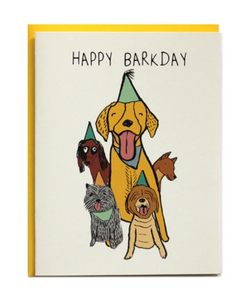 Card - Happy Barkday
