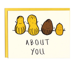 Card - I'm Nuts About You