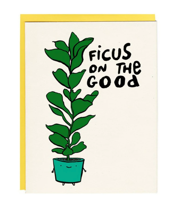 Card - Ficus On The Good