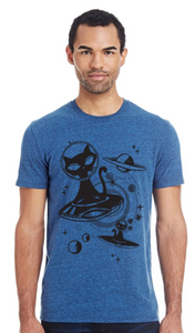 Shirt: Alien Cat - Unisex Crew