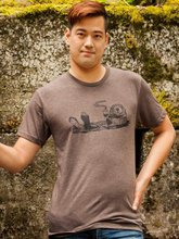 Load image into Gallery viewer, Shirt: Brown Coffee Otter - Unisex Crew