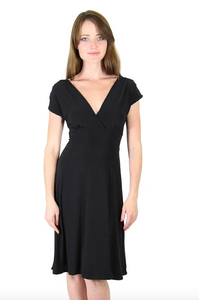 Veronica Lake Dress - Black