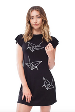 Load image into Gallery viewer, Tunic Dress - Paper Crane