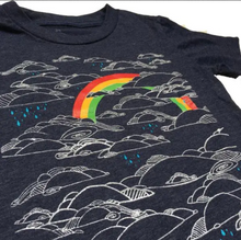Load image into Gallery viewer, Toddler Shirt - Rainbow - Unisex Crew