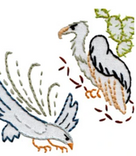 Load image into Gallery viewer, Craft Supply - Embroidery Pattern - Birds of Prey