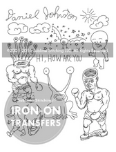 Load image into Gallery viewer, Craft Supply - Embroidery Pattern - Daniel Johnston