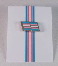 Load image into Gallery viewer, Enamel Pin - Trans Pride Flag