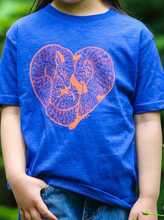 Load image into Gallery viewer, SALE Toddler Shirt - Fox Heart - Unisex Crew