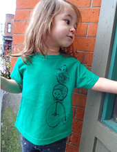Load image into Gallery viewer, Toddler Shirt - Hedgehog - Unisex Crew