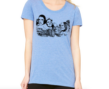 Load image into Gallery viewer, Shirt - Women on Mt. Rushmore - Feminine Scoop