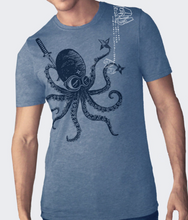 Load image into Gallery viewer, Shirt: Ninja Octopus - Unisex Crew