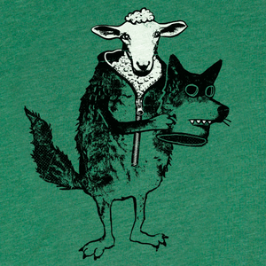 Shirt: Sheep in Wolf's Clothing - Unisex Crew