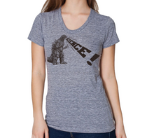 Load image into Gallery viewer, Shirt: Godzilla Science - Feminine Scoop