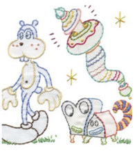 Load image into Gallery viewer, Craft Supply - Embroidery Pattern - Jim Woodring