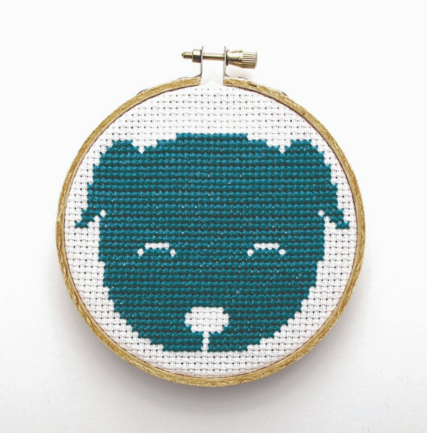 Cross Stitch Kit - Dog