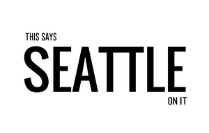 Postcard: The Says SEATTLE On It - Ten Pack