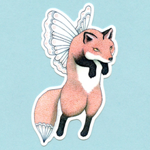 Load image into Gallery viewer, Sticker - Fox Faerie