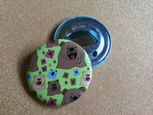 Load image into Gallery viewer, Bottle Opener Keychain - Pattern Bear
