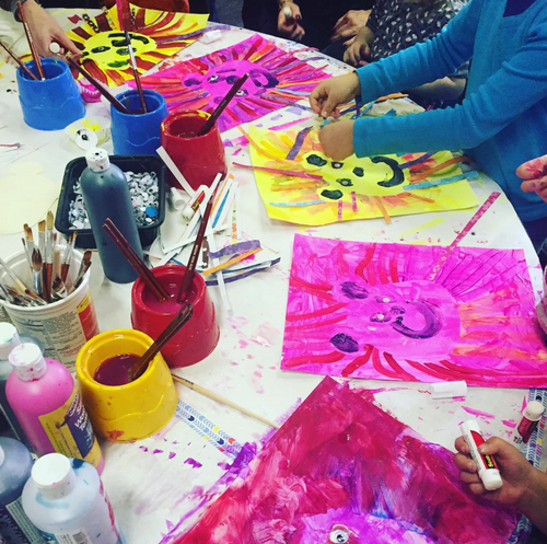 Paused: Tomato Tots: Art Classes for Kids - March