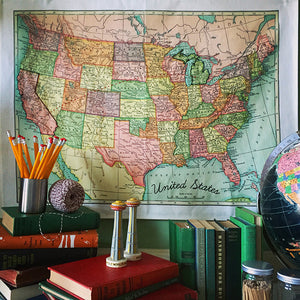 U.S. Map Embroidery Sampler Workshop with Robert Mahar