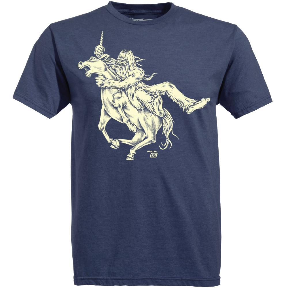 Shirt: Bigfoot vs. Unicorn - Unisex Crew