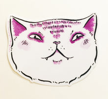Load image into Gallery viewer, Sticker - Smug Expressive Cat